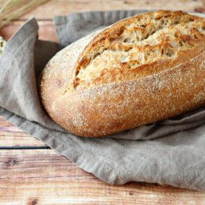 Бездрожжевой хлеб вегетарианский