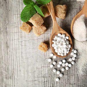 Сахар и сахарозаменители вегетарианские