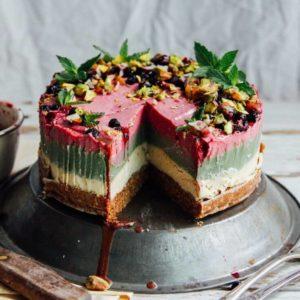 Живые (RAW) торты